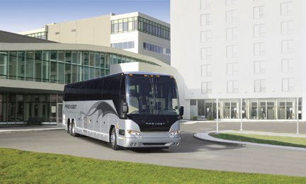 2010 Prevost H-Series Motorcoach at Lévis Congress Center in Quebec