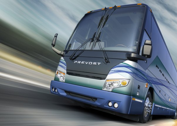 2010 Prevost H-Series Motorcoach featuring the new Facelift