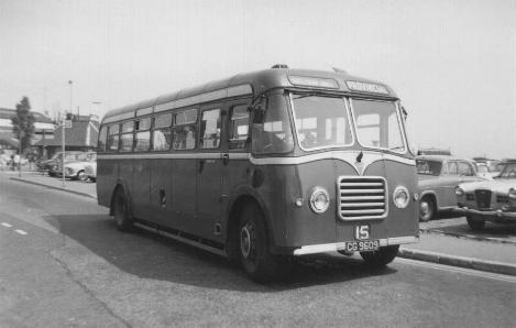 AEC Regal after rebuit with Reading FB34F body  cg9609