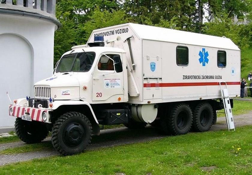 Ambulance Praga RND Ambu