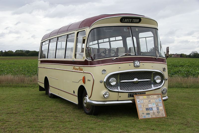Bedford VAS Plaxton Embassy coach ETC 760B