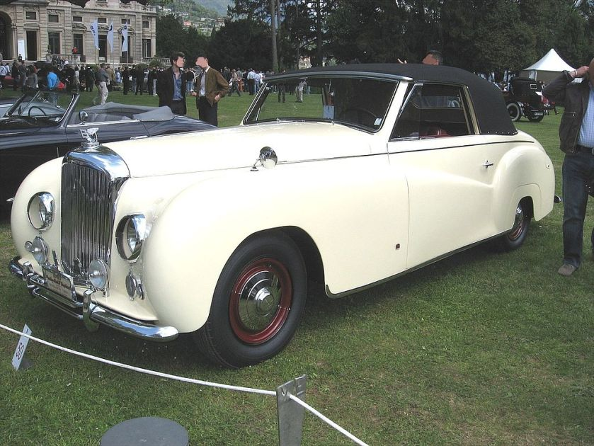 Bentley Mark-VI-Ramseier Front-view