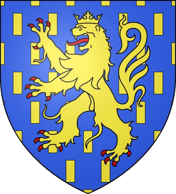 Blason fr Franche-Comté Lion Peugeot