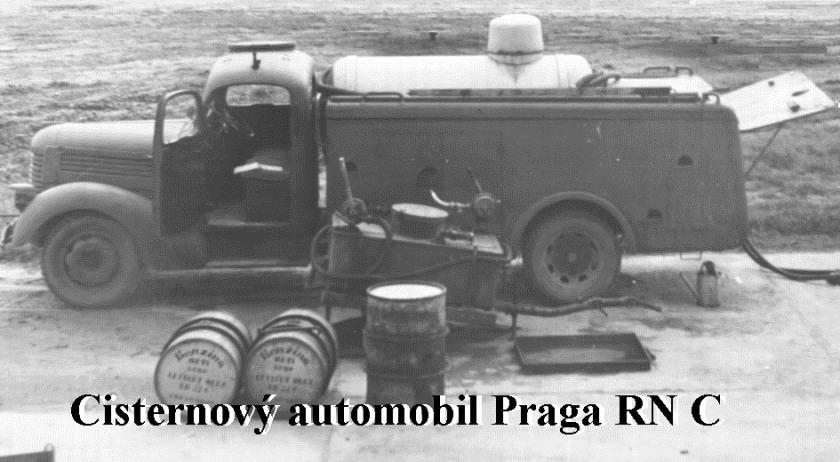 Brandweer Trucks Praga RN 2306 p cisterna