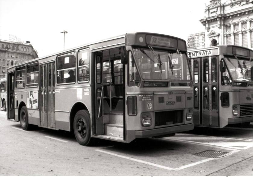 Fiat 418AC Portesi 3207 dell'AMT Genova