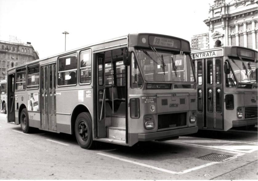 Fiat 418AC Portesi 3207 dell'AMT Genova