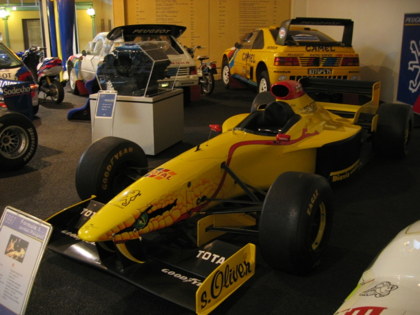 Jordan Peugeot F1