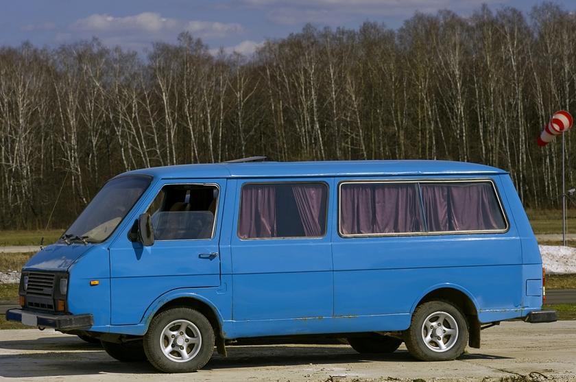 Microbus RAF-22038 hearse