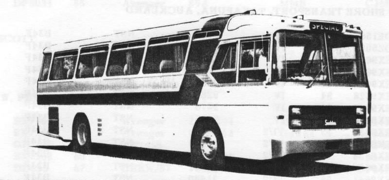 Midland bodied Seddon Pennine Coach