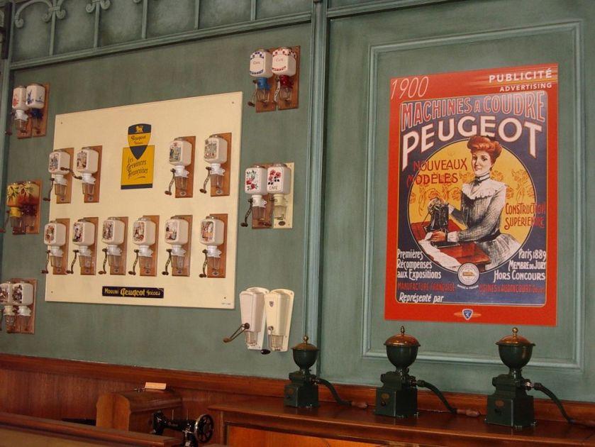 Moulins à café Peugeot-sochaux