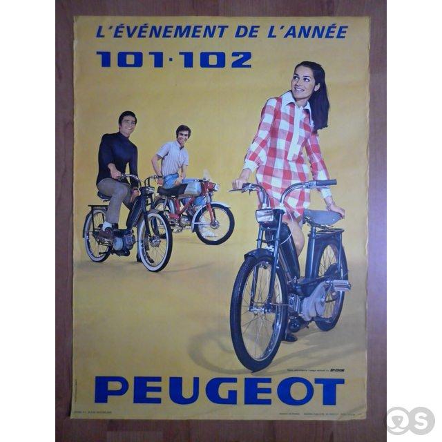 Peugeot 102 bromfiets