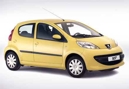 Peugeot 107 5-drs(2)