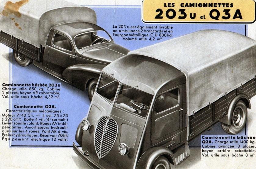 Peugeot 203 + Q3A