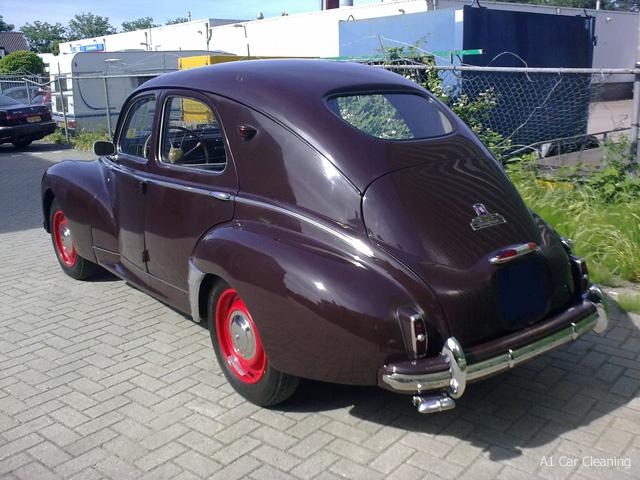 peugeot 203-rear