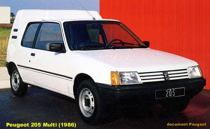 Peugeot 205 Multi Blc AVG