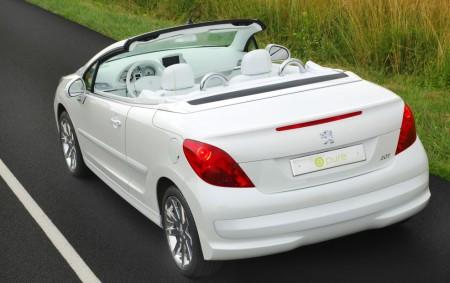 Peugeot 207 EPURE achterkant