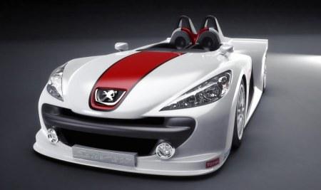 Peugeot 207 Spider voorkant