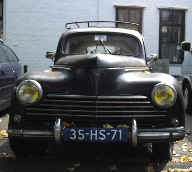 Peugeot 306 klasiek met groothoek