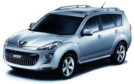 Peugeot 4007 voorkant