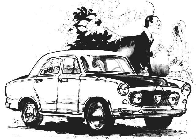 Peugeot 403 - Hector Luis Bergandi - Revista Corsa Nro 353