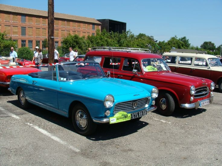 Peugeot 404 and 403