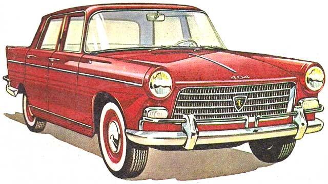 Peugeot 404-publicidad Arg
