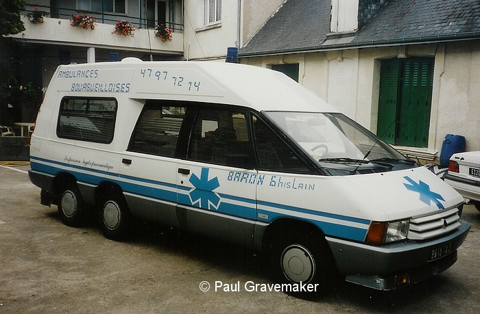 Peugeot 405 GLD Break France