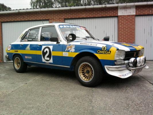 Peugeot 504 rally