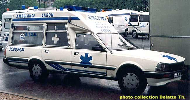 Peugeot 505 ambulance T
