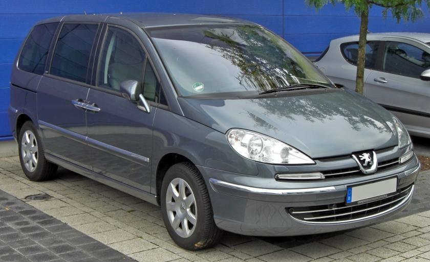 Peugeot 807 Facelift