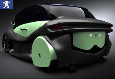 Peugeot Delta Concept rear