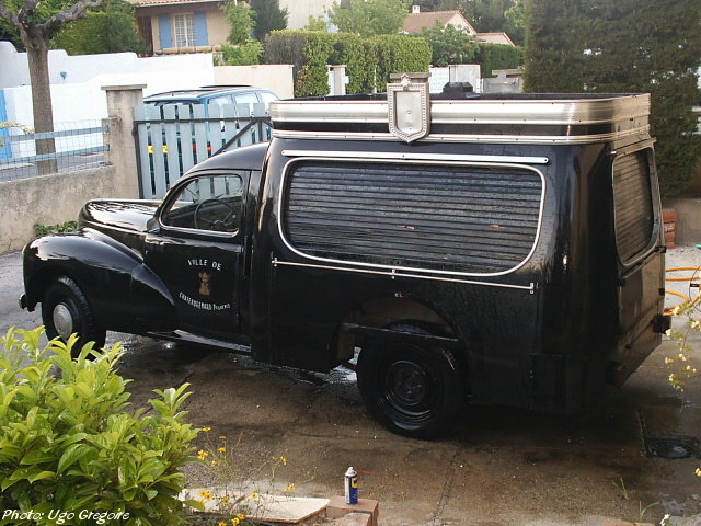 Peugeot Hearse