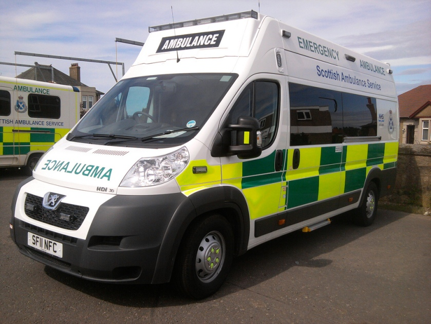 Peugeot Scottish Ambulance Service New Ambulance