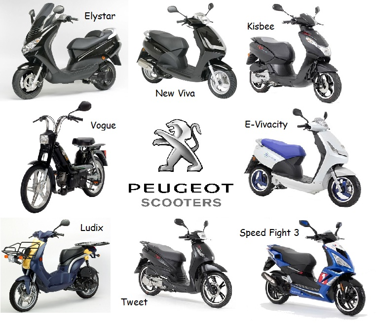 peugeot50cc scooters