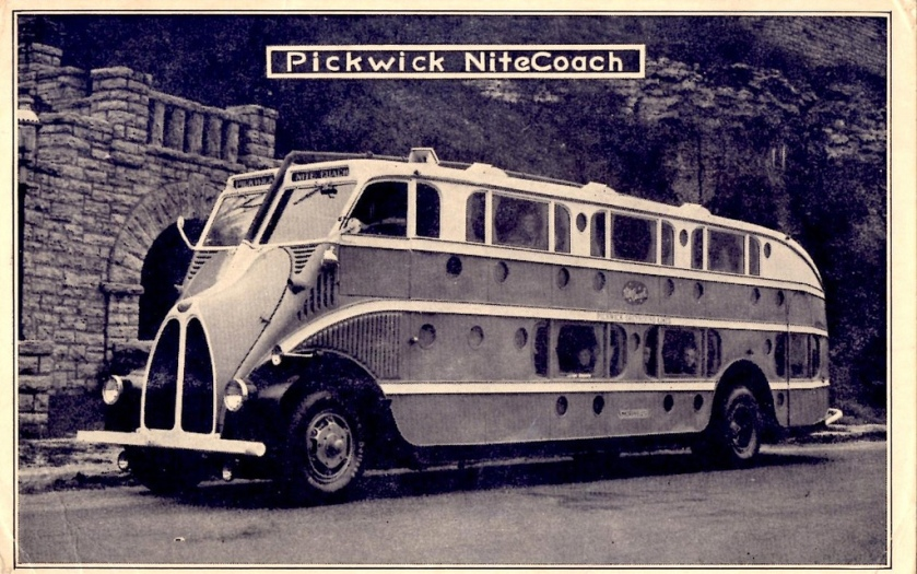 Pickwick Nite Coach Bus