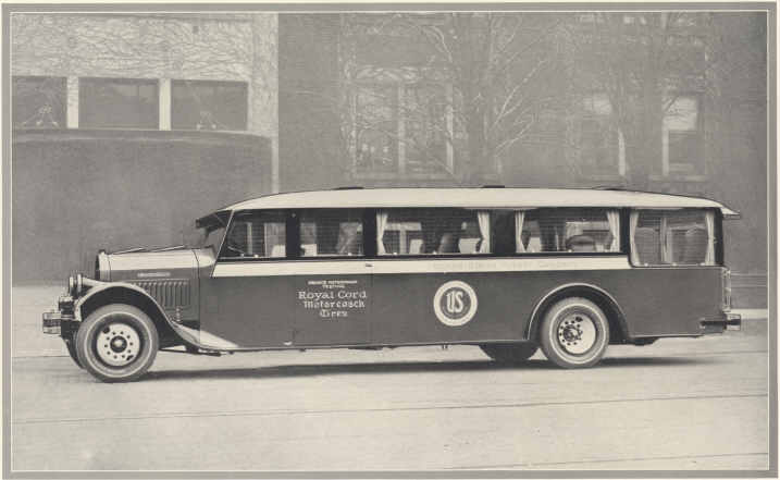 Pierce Arrow Model Z Chassis Buffalo Body Luxe Observation Coach