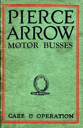 Pierce-Arrow Model Z Owner's Manual