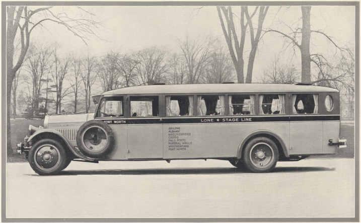 Pierce Arrow model Z with Buffalo Body Luxe Pay Enter Bus