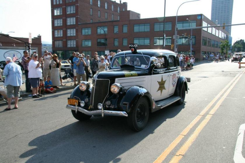 Pierce Arrow Police Car
