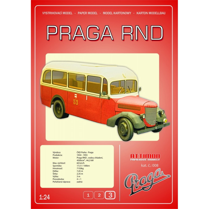 Praga RND Bus. Model AT-008