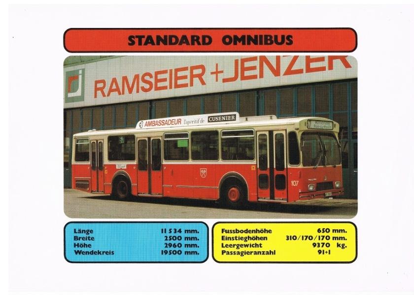 RAMSEIER+JENZER (3) Standard Omnibus