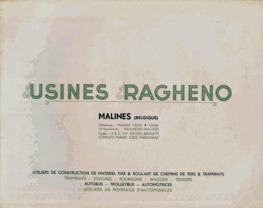 Usines Ragheno Malines