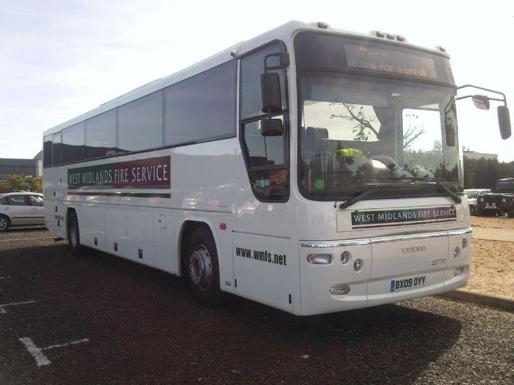 Volvo Plaxton B7R coach Engeland