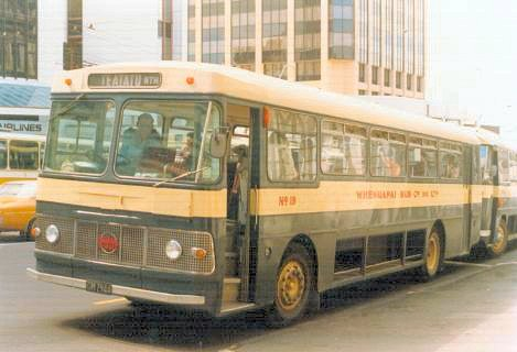 Whenuapai 19 with NZMB B51+25D body Bus Seddon Pennine 19