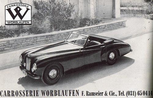 Worblaufen Jaguar MK VII Convertible