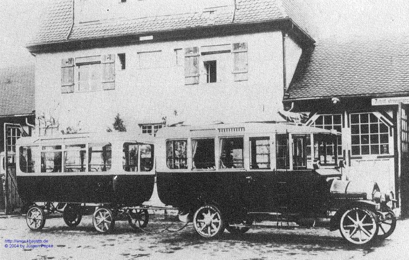 1915 Saurer mit Baader-Anhaenger