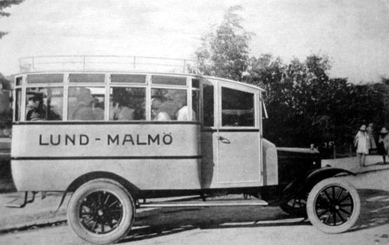 1920 Säffle i mitten av 1920 orgfordttbuss1