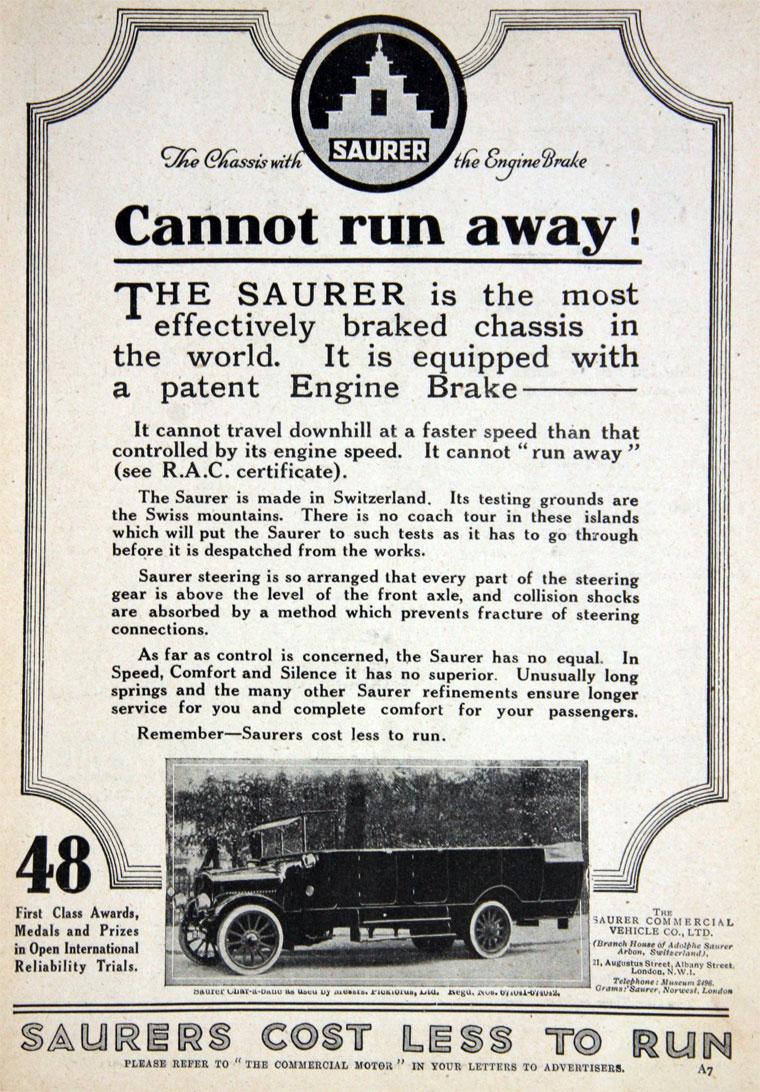 1922 Saurer