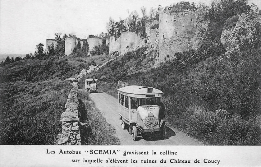 1923 Scemia Chateau de Coucy