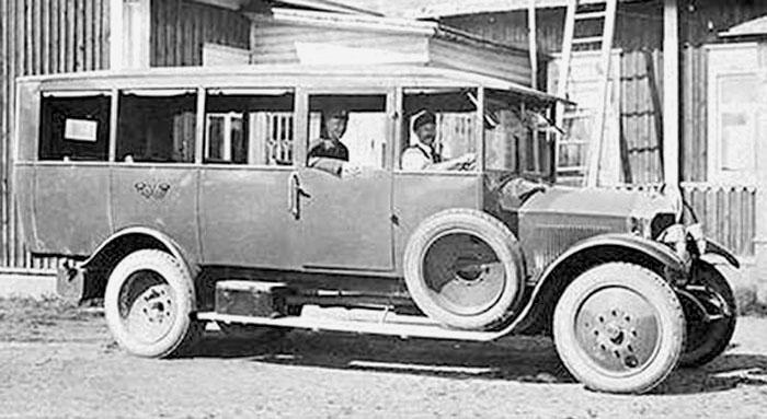 1925 Rochet-Schneider Pori-Karvia linjalla vuonna 1925 1920c